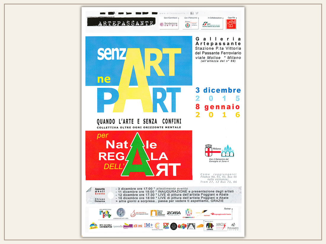 Mostra Senz art ne Part