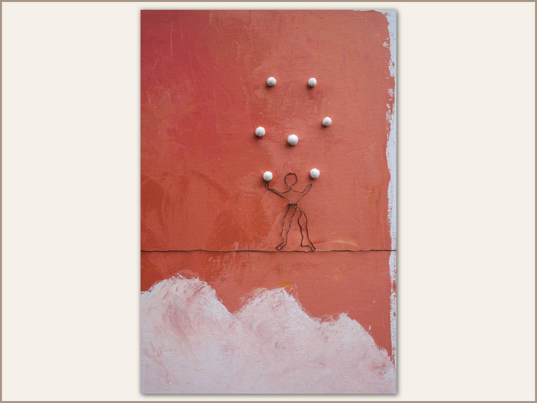 Dettaglio L'Equilibriste Jongleur