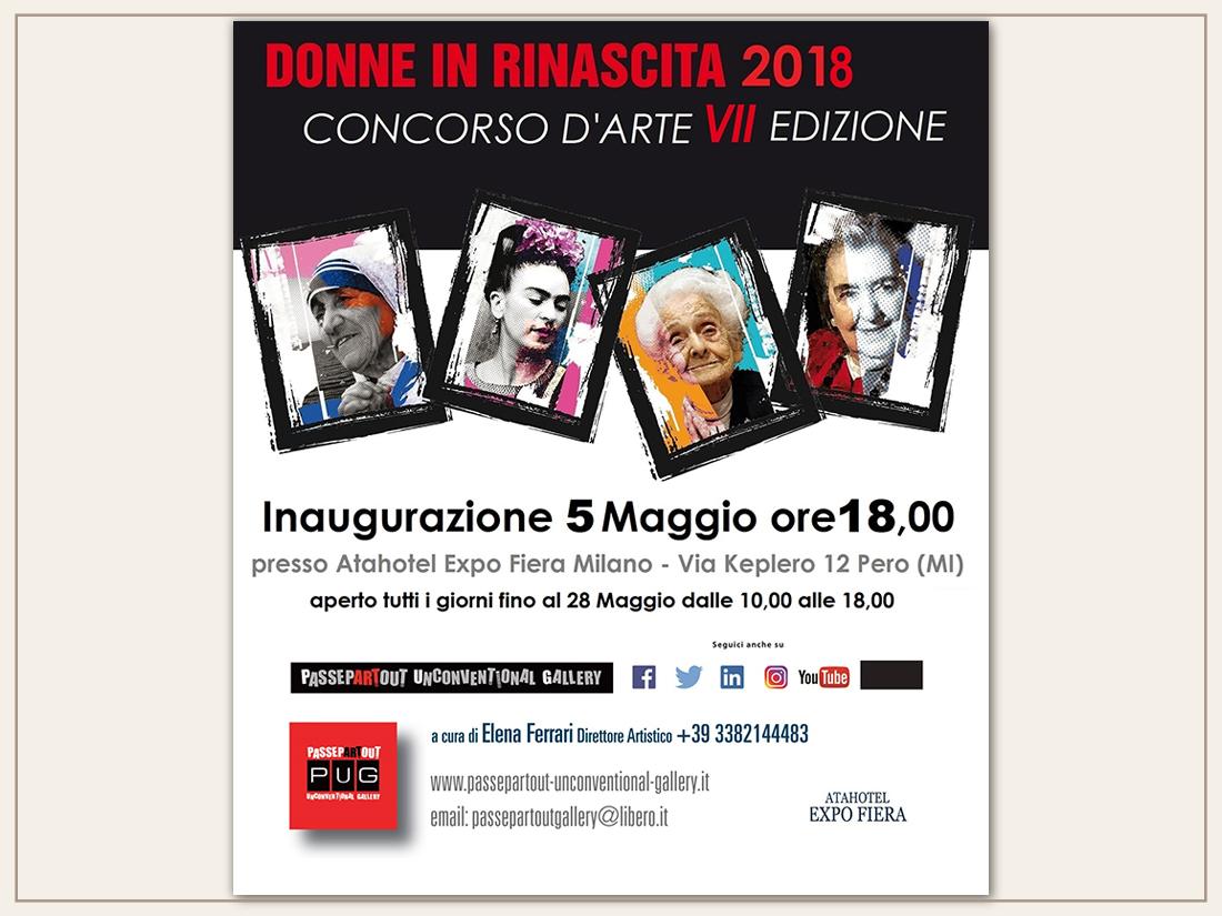 Donne in Rinascita 2018 Vii edizione