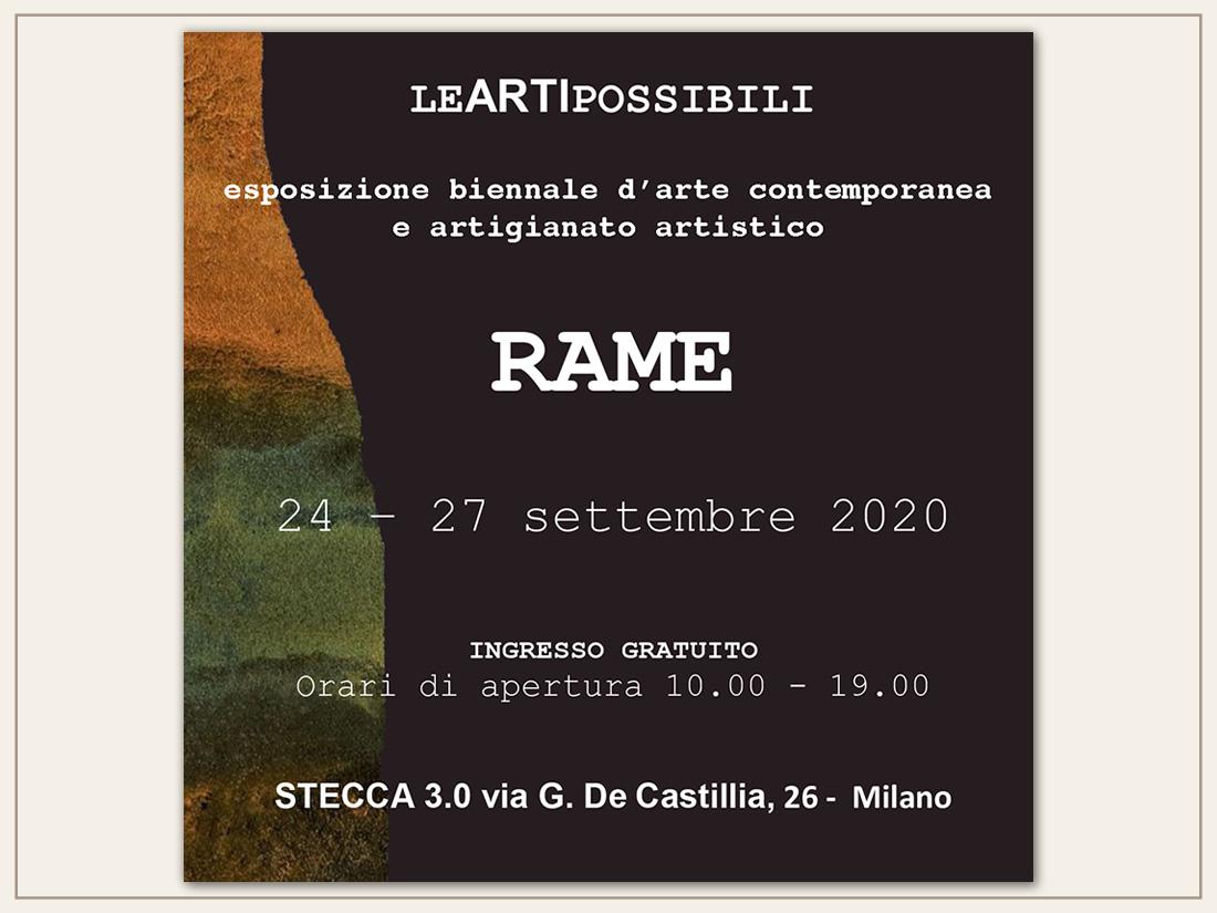 Biennale Leartipossibili - Rame 2020