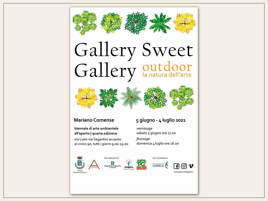 Locandina Gallery Sweet Gallery 2021